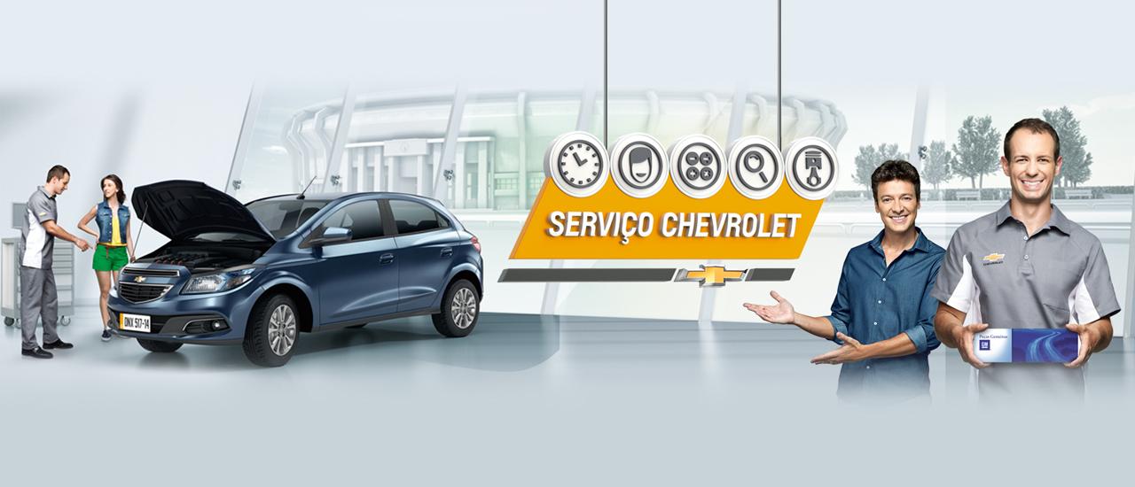 Serviços de manutenção e reparo para revisão de carros na concessionária Chevrolet Chemarauto