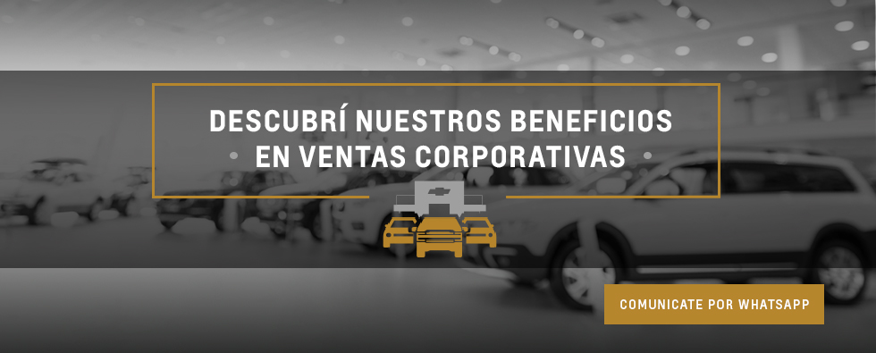 Beneficios exclusivos en Ventas Corporativas en Chevrolet San Jorge