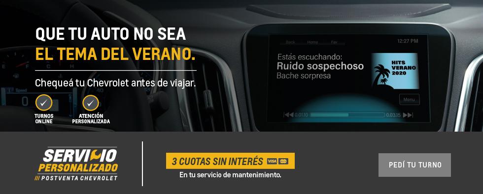 Servicios Postventa Chevrolet San Jorge