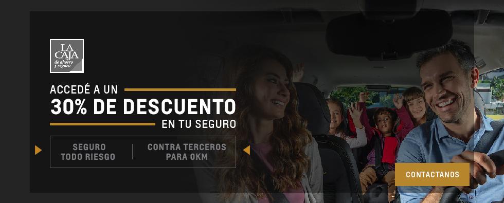 Contratá tu seguro La Caja en Chevrolet San Jorge