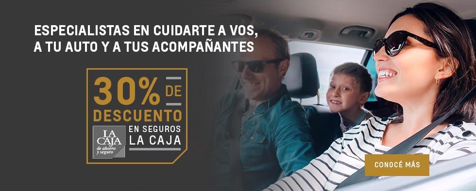 30% de descuento en La Caja Seguros con Chevrolet San Jorge
