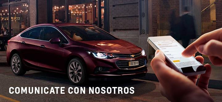 Contacto Chevrolet San Jorge