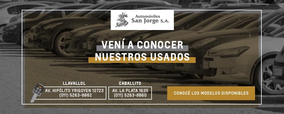 Usados en Chevrolet San Jorge