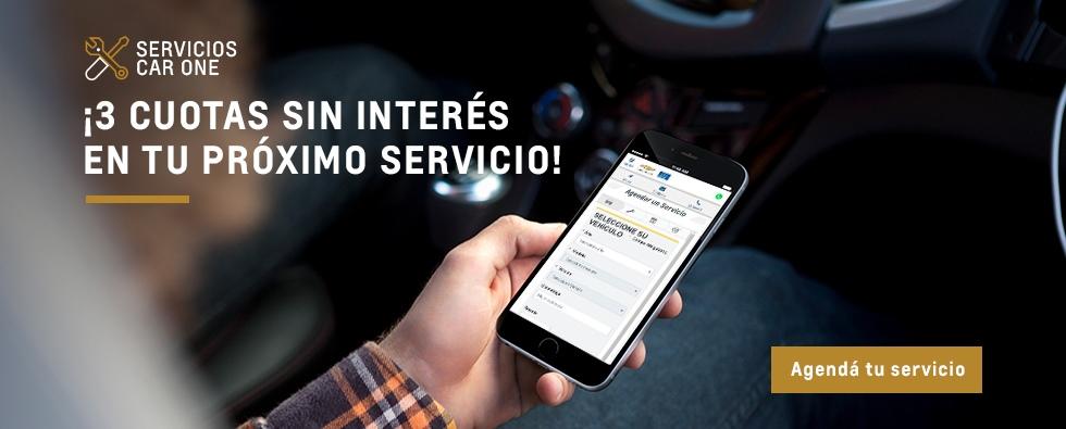 Oportunidad en servicios Chevrolet en Car One