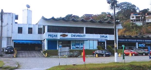Fachada concessionária Chevrolet Dirija Jacarepaguá