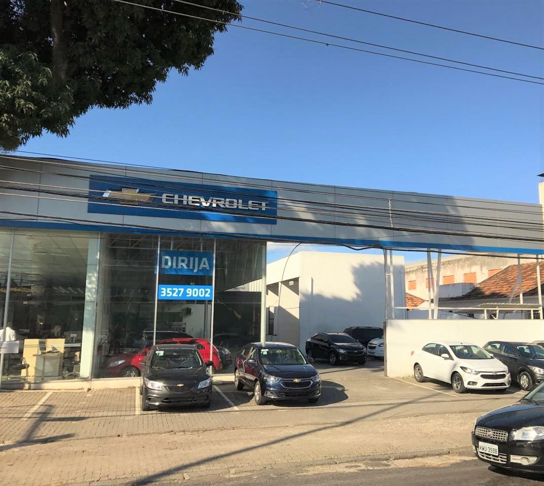 Fachada concessionária Chevrolet Dirija