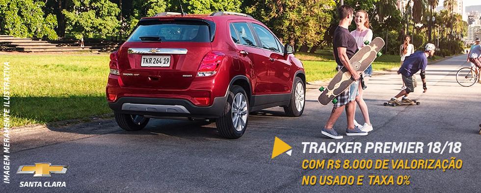 Tracker, o SUV mderno