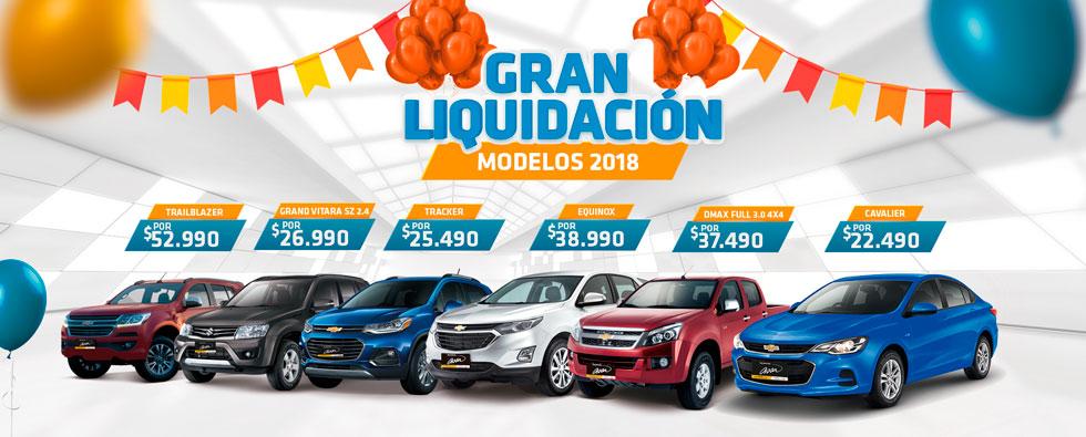 Liquidación Modelos 2018