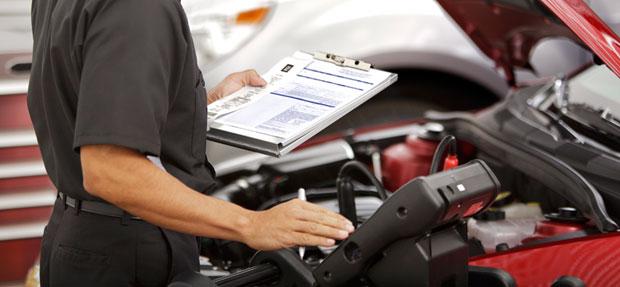 Serviços de manutenção e reparo para revisão de carros na concessionária Chevrolet Cotac
