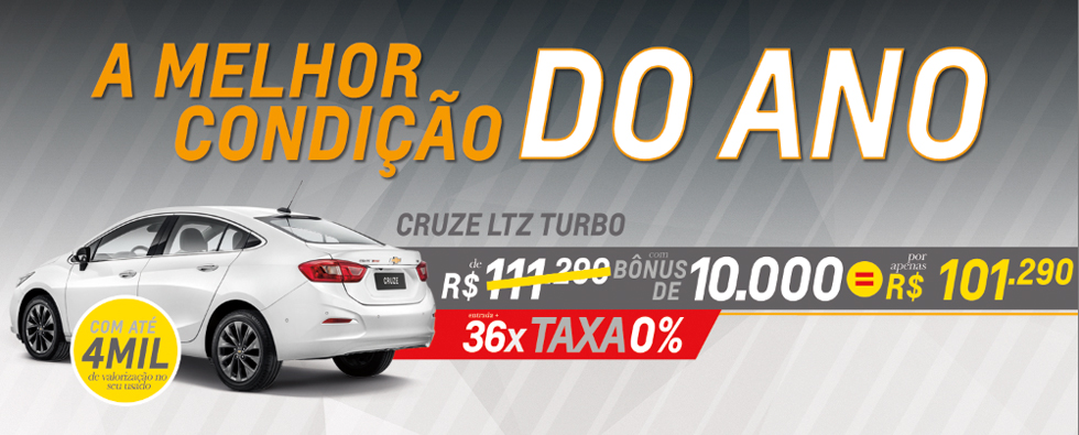 Oferta COTAC Cruze Sedan LTZ Turbo