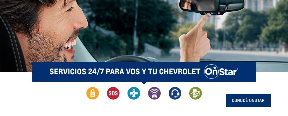Servicio Onstar Concesionario oficial Chevrolet