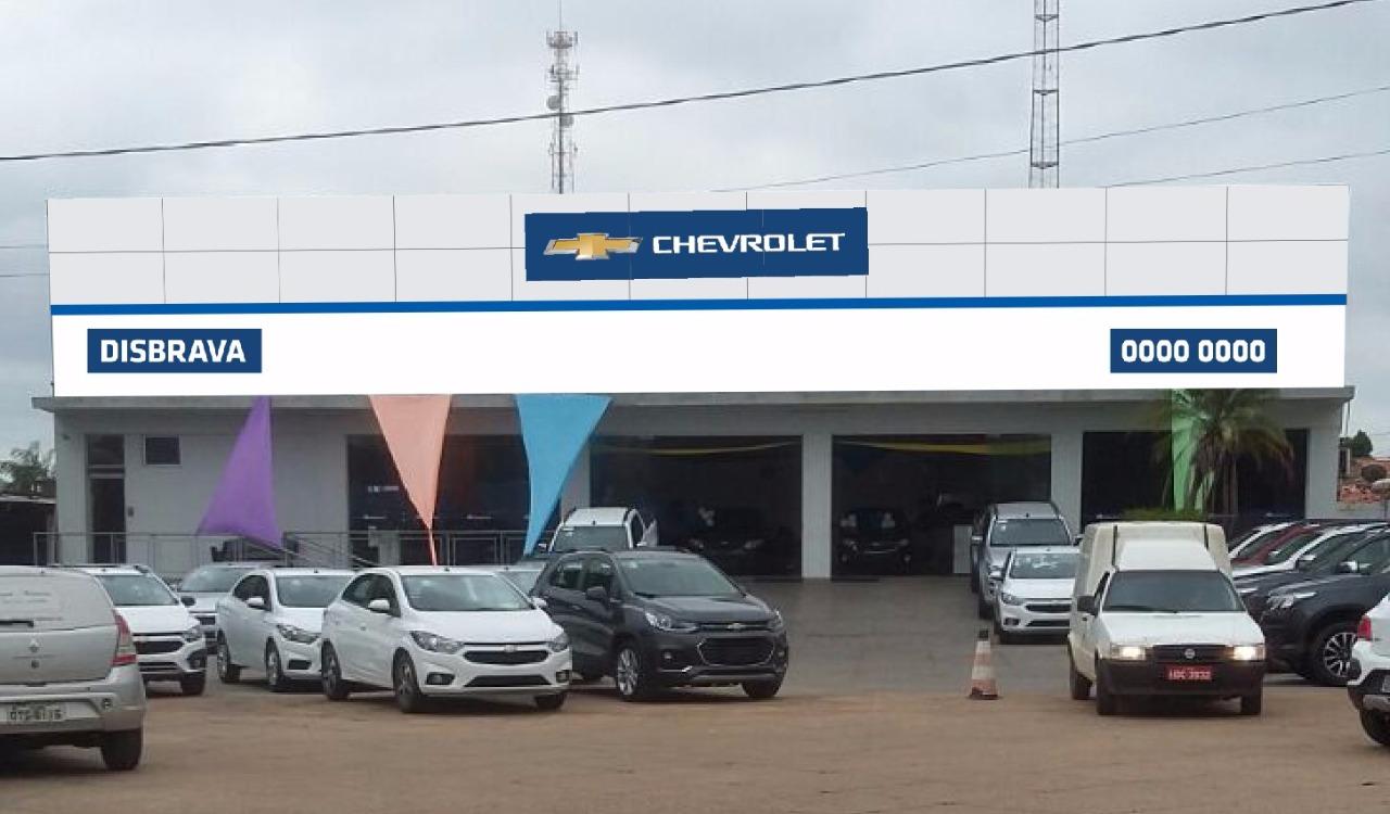 Fachada concessionária Chevrolet Disbrava