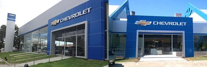 Fachada concessionária Chevrolet Dafonte