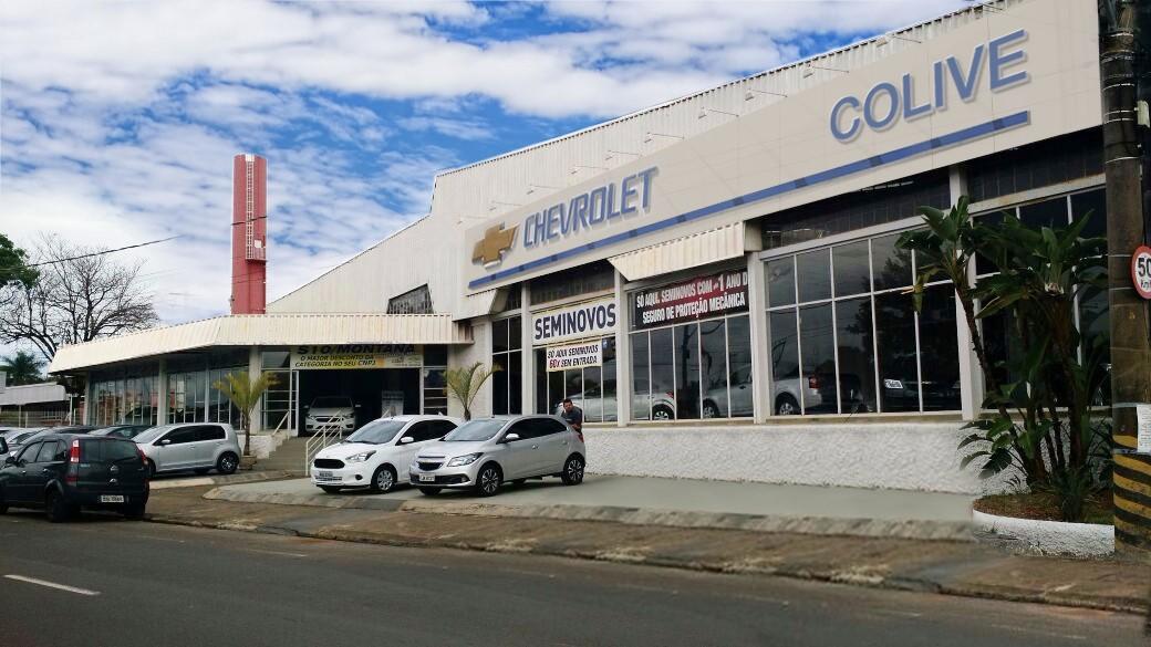 Fachada concessionária Chevrolet Colive