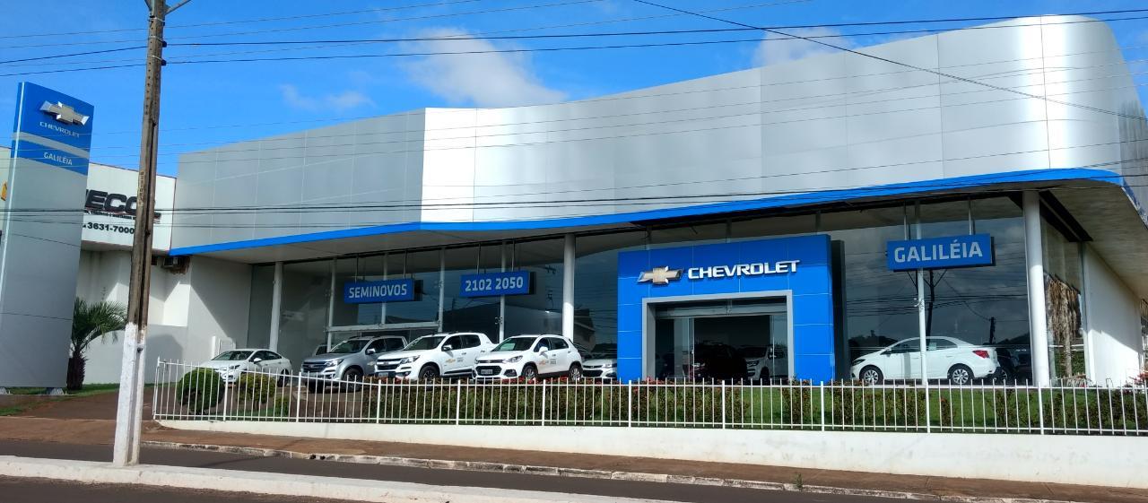 Fachada concessionária Chevrolet Galiléia Jataí