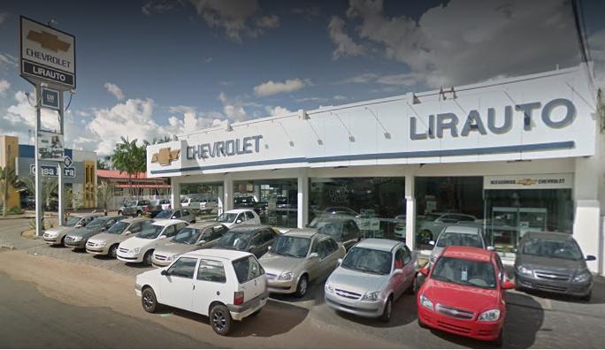 Fachada concessionária Chevrolet Lirauto Boa Vista