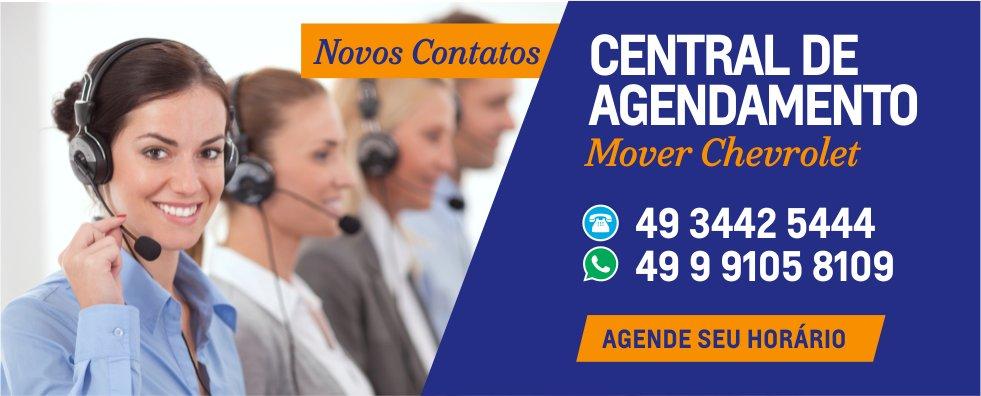 novos contatos Central de Agendamento