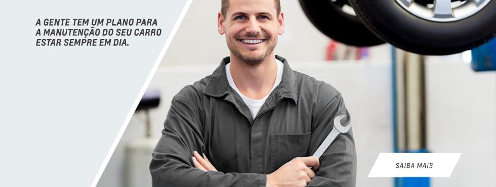 Serviços de manutenção e reparo de carros Chevrolet Sinoscar