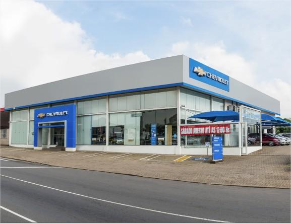 Fachada concessionária Chevrolet Sinoscar