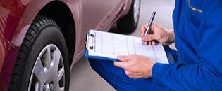 Agende a revisão do seu veículo.