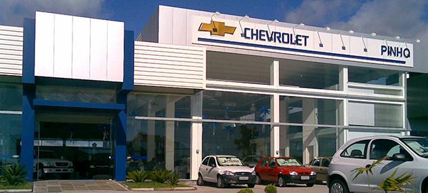 Fachada concessionária Chevrolet Pinho