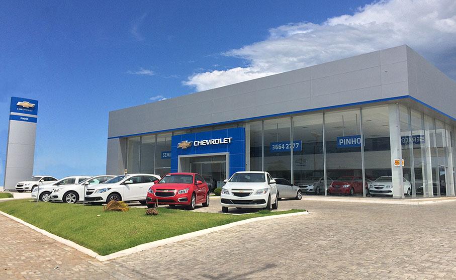Compre seu carro Chevrolet na concessionária Pinho