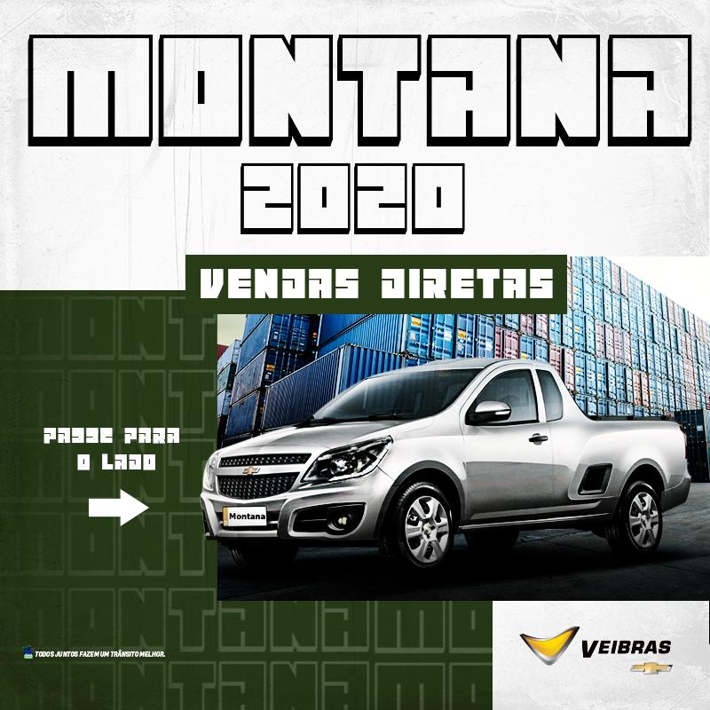 #VendasDiretas #ChevroletMontana Oferta_Montana01