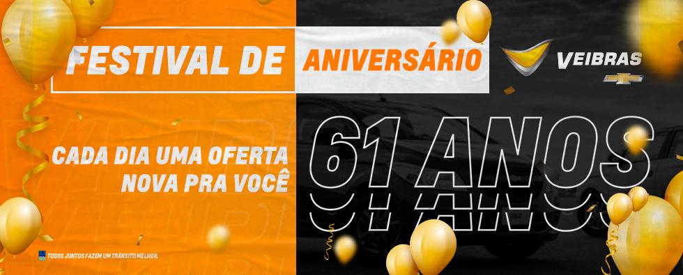 #FestivaldeAniversarioVeibras