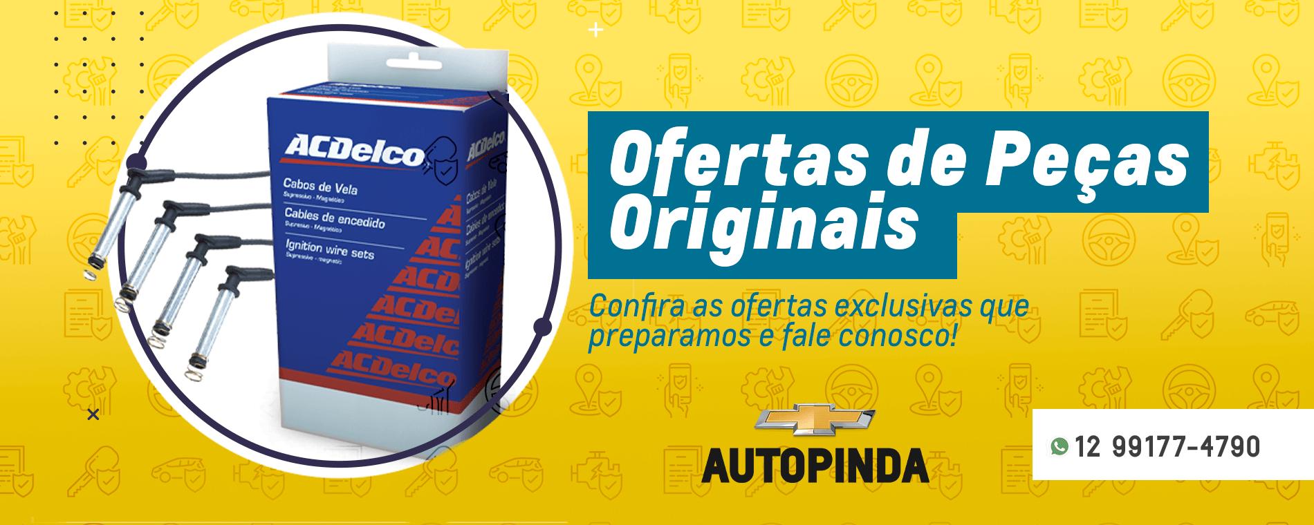 Banner Oferta de Peças Originais Autopinda
