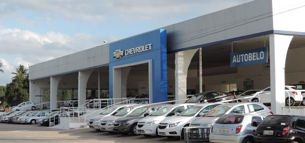 Fachada concessionária Chevrolet Autobelo.