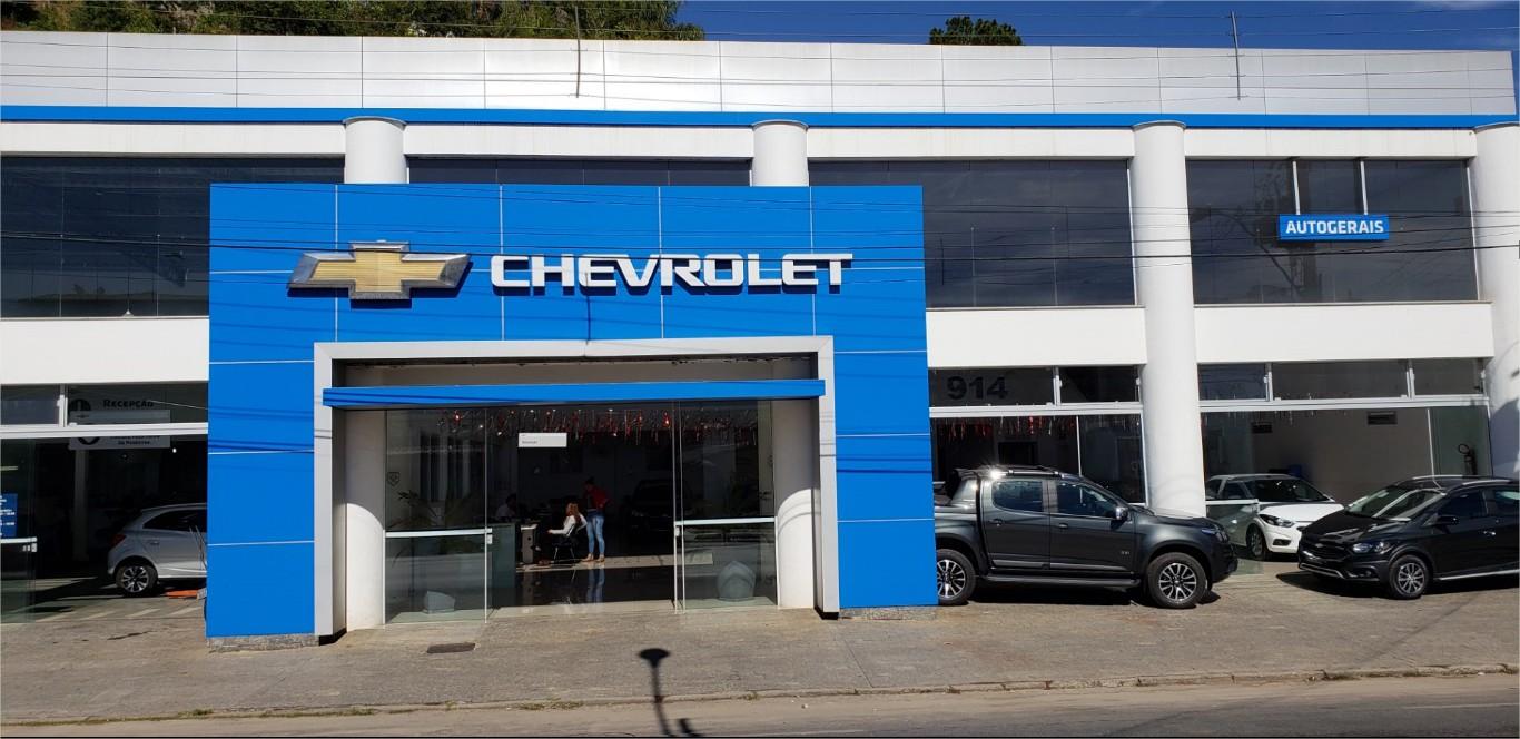 Fachada concessionária Chevrolet Autogerais