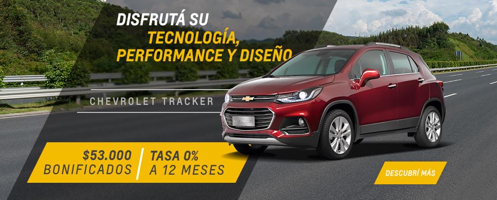 Oferta en Chevrolet Tracker