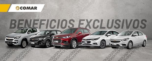 Beneficios exclusivos Chevrolet en Comar Automotores
