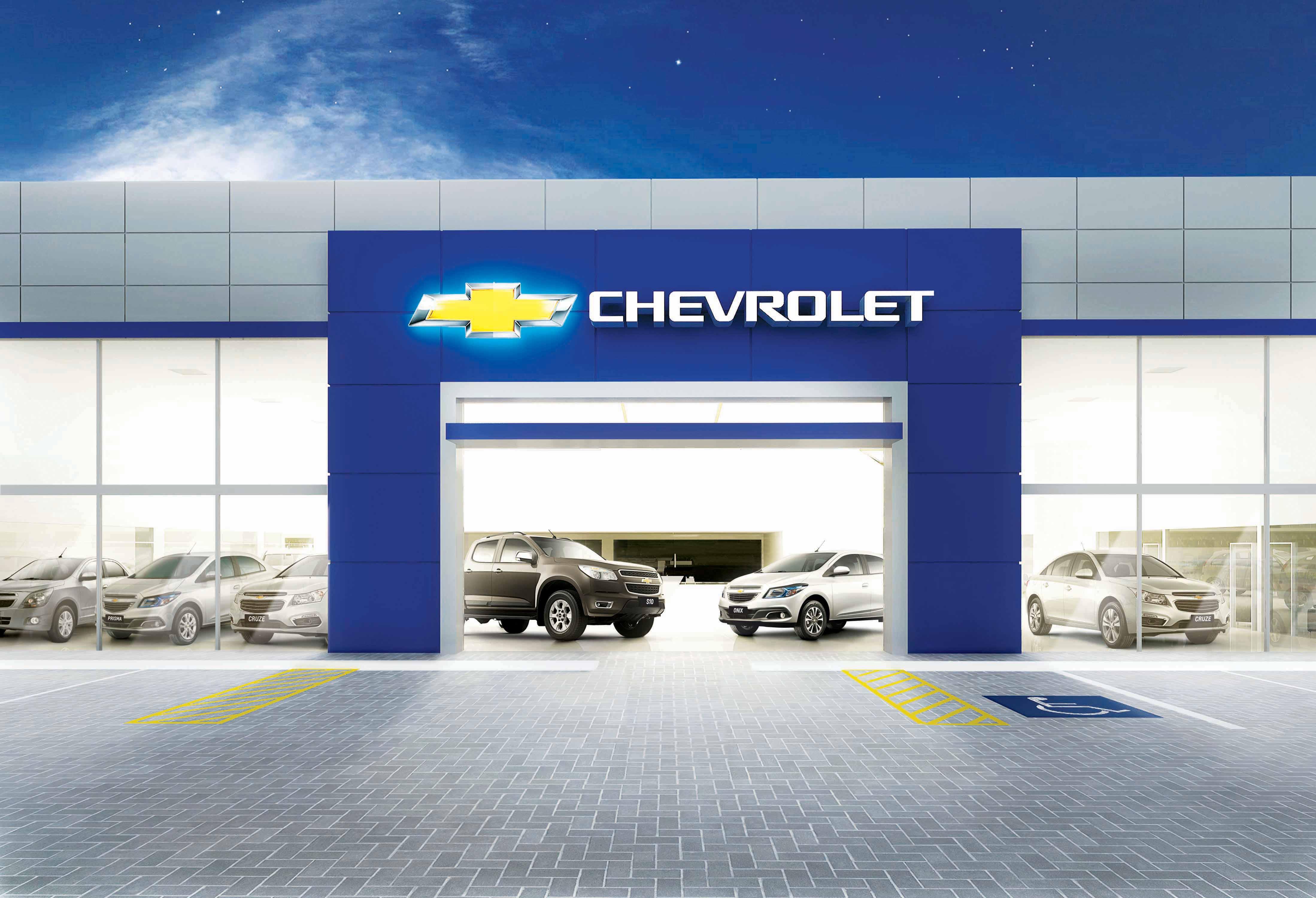 Fachada concessionária Chevrolet Autus