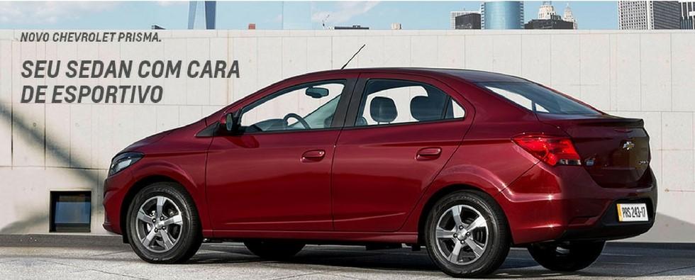 Banner Chevrolet Prisma