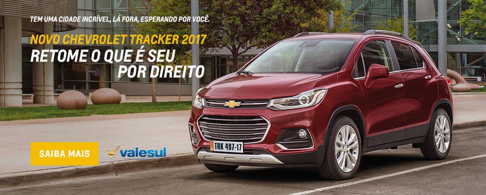 Novo Chevrolet Tracker 2017 é na Valesul São José dos Pinhais