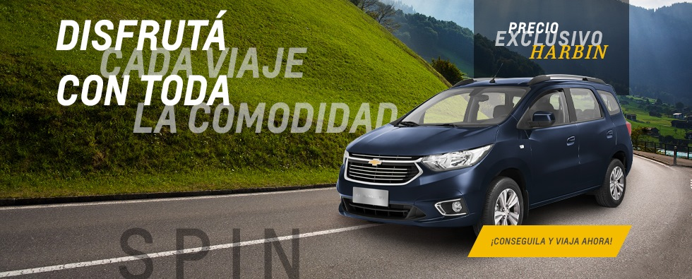 Precio exclusivo Chevrolet Spin en Harbin
