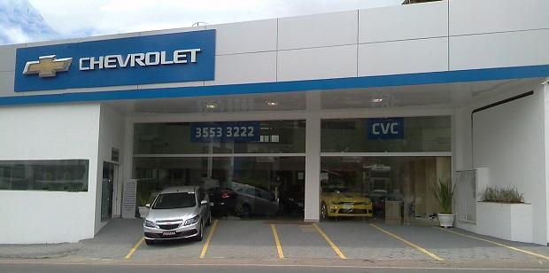 Fachada concessionária Chevrolet CVC